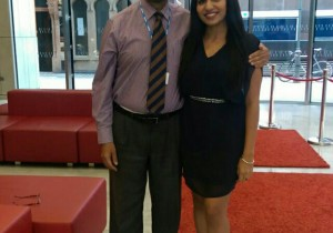 Dr Papa Reahal and I